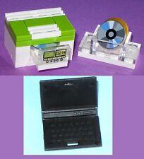 Custom CD DVD Blue-ray Player Laptop Clock Radio Disk Drive Memory Miniature