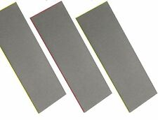"3PC 6"" Diamond Sharpening Stone Set Fine, Extra Fine & Coarse Whetstone Knife"