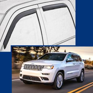 In-Channel Wind Deflectors Window Visors for 2011-2021 Jeep GRAND CHEROKEE