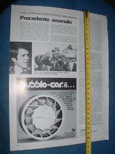 "MARK DONOHUE "" CASO DONOHUE - GOODYEAR - Pagina da vecchia rivista"
