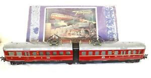 AC1832:Vintage Boxed Fleischmann 0 Gauge Electric Railcar E370