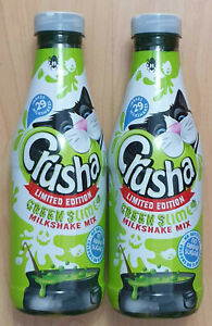 2XCrusha Lime Milkshake Mix New 740ml Sublime Green Slime! - SUGAR FREE! BB 9/21