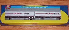 ATHEARN 28423 53' WABASH DURAPLATE TRAILERS (2) VICTORY EXPRESS