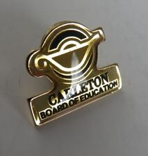 VINTAGE CARLETON BOARD OF EDUCATION OTTAWA PIN                       (INV16877)