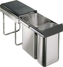 Edel-Double 30DT Einbau Abfallsammler Mülleimer Abfalleimer Müllbehälter 20+10 L