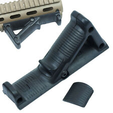 Tactical Angled Foregrip Hand Guard Front Grip for Picatinny Rail - black