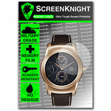 ScreenKnight LG Watch Urbane SCREEN PROTECTOR invisible Military Grade shield
