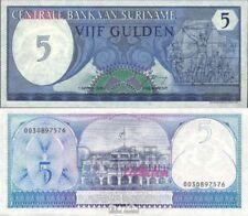 Suriname Pick-Aantal: 125 UNC 1982 5 Gulden