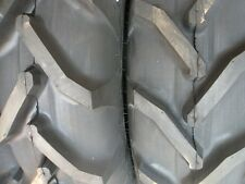 TWO 12.4x28,12.4-28 8 Ply Ford-New Holland 3230 R 1 Tractor Tires w/Tubes