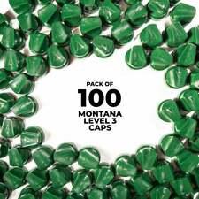 Montana Level 3 Caps - 100 Pack