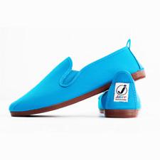 Genuine Fluorescent Neon Green Javer Shoes Size UK4 EU37 Plimsoll Flossy Inc Box