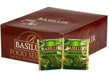 Tè basilur-Tè verde con menta marocchina-FOIL Avvolgere Tea sacchetti x 100 SACCHETTI