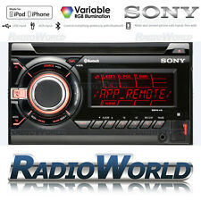 Sony WX-GT90BT Double Din Car Stereo Headunit Radio FM AM CD AUX USB Bluetooth