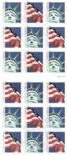 Forever Stamps Lady Liberty and Flag ATM Sheet of 18 Stamps Scott 4519b