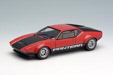 Makeup/VISION VM076A 1:43 De Tomaso Pantera GT4 1974 Red/Black