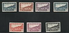 Senegal  (1935)  - Scott # 142 - 148,