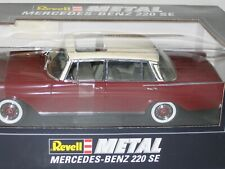 1/18 REVELL MERCEDES-BENZ 220 SE, BURGUNDY , NEW , 8942