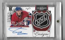 2012-13 Dominion Rookie Ensigns Signatures #30 Gabriel Dumont