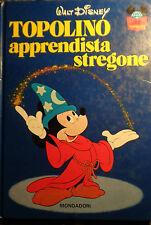 TOPOLINO APPRENDISTA STREGONE WALT DISNEY MONDADORI II RISTAMPA 1983 AA/580