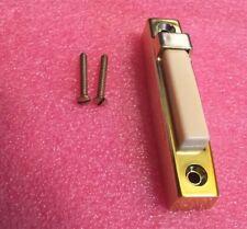 Nutone PB-11N Door Bell Push Button, Brass Finish