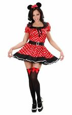 MOUSE GIRL COSTUME CARTOON LADIES FANCY DRESS - EXTRA LARGE