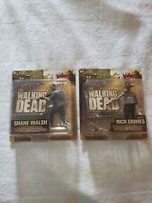 Walking Dead Season 2 RICK GRIMES & SHANE WALSH Action Figures