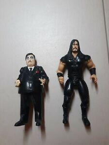 1997 WWF WWE Jakks BCA Undertaker + Paul Bearer Wrestling Action Figures
