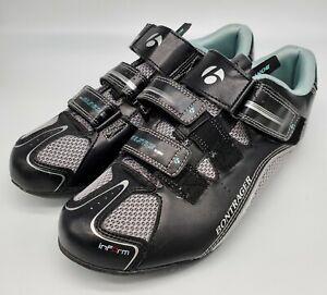 BONTRAGER Women's Sz 9.5 Cycling Shoe, Inform Solstice w SHIMANO SM SH56 Cleats