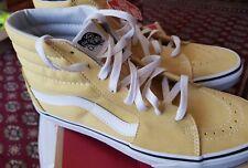 Vans Unisex Adults' Sk8-Hi Trainers Yellow (Dusky Citron/True White) 7 UK