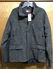 Tommy Hilfiger Wool Mens Jacket Full Zip or Snap Size...