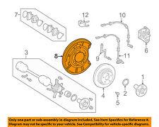 Mercedes MERCEDES-BENZ OEM CL65 AMG Disc Brake-Rear-Dust Shield Right 2204201644