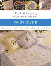 Cross Stitch Collection: Wild Flowers Motifs by David and Charles (Paperback)