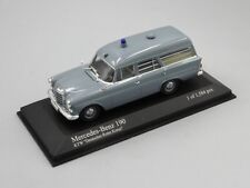 Minichamps 1:43 Mercedes 190 Ambulance 1961 L.E. 1584 pcs.