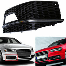 Front Right Fog light Grill Grille Cover for Audi A4 S-line S4 2013 2014 2015