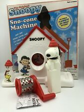 2007 Snoopy Sno-Cone Machine Peanuts Snow Cone