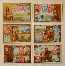 Liebig-Serie 355/521 Briefmarken I