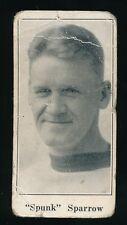 1924-26 V128 Paulin's Candy #49 SPUNK SPARROW (Edmonton Eskimos-WCHL) -NHL