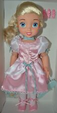 "Disney Little Cinderella Color Changing Fun Doll 15"" Large Mint in Shipping Box"