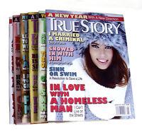 2014 True Story Magazines 6 months (Jan, Mar, Apr, Jun, Aug & Dec)