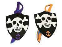Children's Pirate Battle Shield & Sword EVA Foam Dress Up Kids Role Play Toy