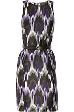 Michael Kors Ikat Silk and Cotton Dress, 12UK, 10US, M, New
