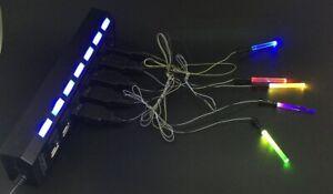 1pcs LED light lightsaber for LEGO figure Toys for The Force Awakens Nano Light