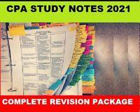 CPA AAA: Advanced Audit & Assurance Exam  Index, Notes 2021 + Bonus Revision Kit