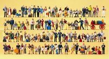 Preiser 13000 Personnel,Voyageurs,Spectateurs,100 Exclusif Figurines H0