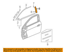HONDA OEM 03-07 Accord Door-Applique Window Trim Left 72470SDNA02ZA