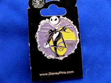 Disney *JACK SKELLINGTON - Expressions Spinner * New on Card Villain Trading Pin