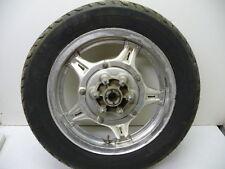 #4027 Honda GL1000 Goldwing Rear Aluminum Wheel & Tire