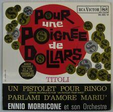 Ennio Morricone Poignée de  Dollars 45 tours