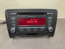 Audi Concert TT car radio stereo CD Player Head Unit Blaupunkt With Code