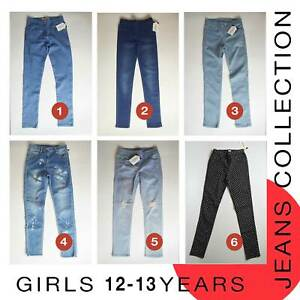 Girls Jeans 12-13 Years Brand New MORE THAN 70% OFF (L70)